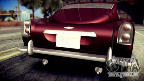 GTA 5 Dewbauchee JB 700 für GTA San Andreas Rückansicht