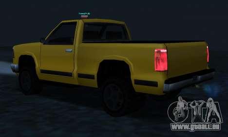 PS2 Yosemite für GTA San Andreas Unteransicht