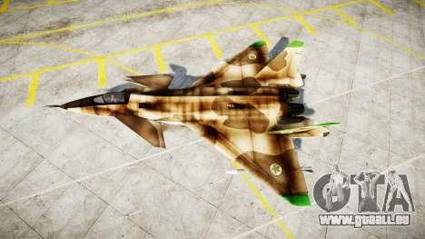 MiG 1.44 IFM pour GTA 4 est une gauche