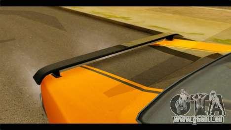 GTA 5 Declasse Sabre GT Turbo IVF für GTA San Andreas Rückansicht