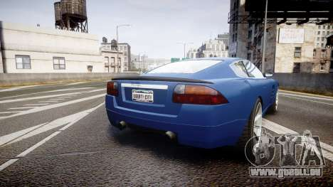 GTA V Ocelot F620 R pour GTA 4 Vue arrière de la gauche