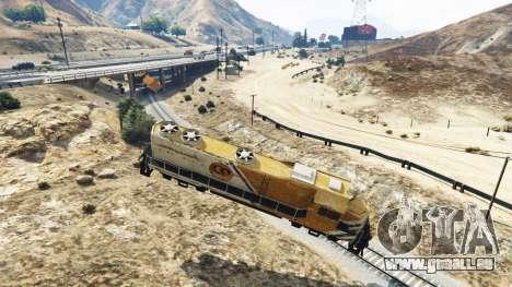 GTA 5 Ingenieur Eisenbahn v2.5 dritten Screenshot