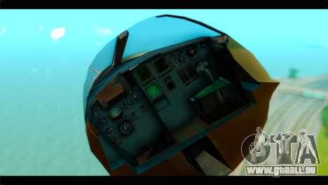 Sukhoi SU-34 IRIAF für GTA San Andreas Rückansicht