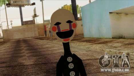 Puppet from Five Nights at Freddy 2 pour GTA San Andreas troisième écran
