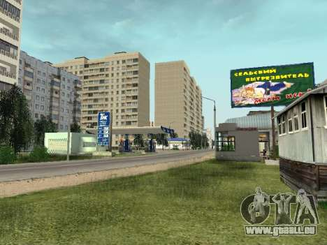 Prostokvashino pour GTA Pénale de la Russie bêta pour GTA San Andreas troisième écran