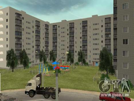 Prostokvashino pour GTA Pénale de la Russie bêta pour GTA San Andreas cinquième écran