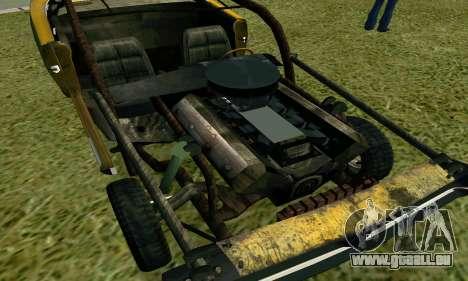 Dodge Charger RT HL2 EP2 pour GTA San Andreas vue arrière