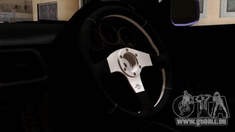 Subaru Impreza WRX STI 5pb Itasha pour GTA San Andreas vue de droite