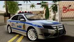 Ford Fusion 2011 Sri Lanka Police für GTA San Andreas
