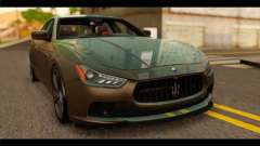 Maserati Ghibli S 2014 v1.0 SA Plate