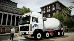 Volvo F10 cement truck für GTA 4