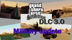 DLC 3.0 Militaire mise à jour