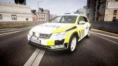 Volkswagen Passat B7 Police 2015 [ELS] marked