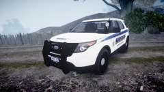 Ford Explorer Police Interceptor [ELS] slicktop für GTA 4