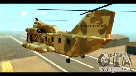 GTA 5 Cargobob pour GTA San Andreas