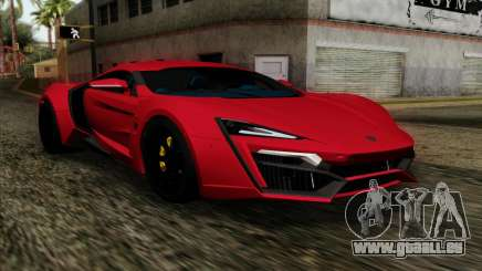 Lykan Hypersport 2014 Livery Pack 1 für GTA San Andreas