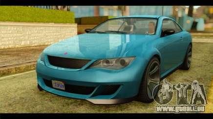 GTA 5 Ubermacht Zion XS IVF für GTA San Andreas