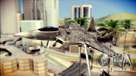 F-22 Raptor Digital Camo pour GTA San Andreas