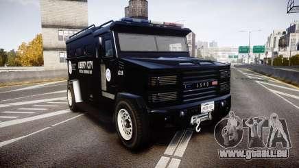 GTA V Brute Police Riot [ELS] skin 2 pour GTA 4