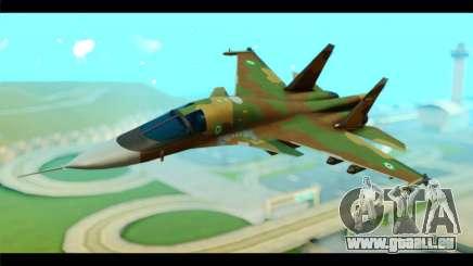 Sukhoi SU-34 IRIAF für GTA San Andreas