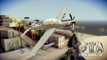 EMB 314 Super Tucano Colombian Air Force pour GTA San Andreas
