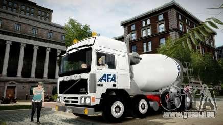 Volvo F10 cement truck pour GTA 4