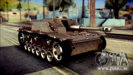 StuG III Ausf. G pour GTA San Andreas