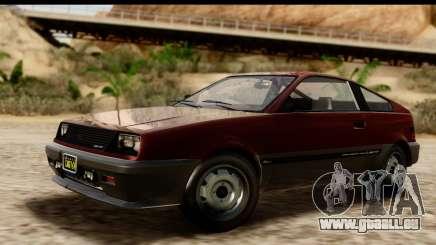 GTA 5 Dinka Blista Compact pour GTA San Andreas