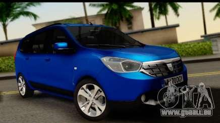Dacia Lodgy 2014 pour GTA San Andreas