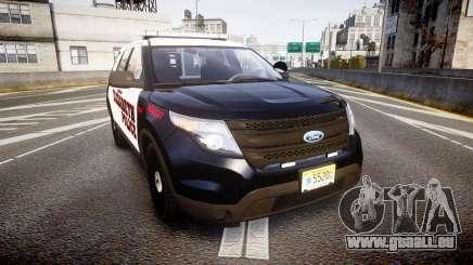 Ford Explorer 2011 Elizabeth Police [ELS] v2 pour GTA 4