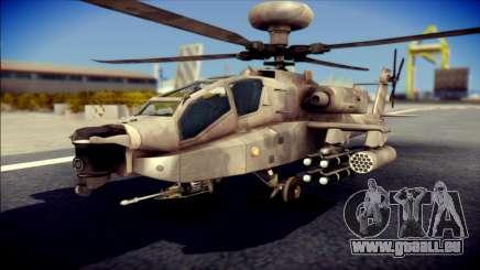 AH64 Apache MOHW pour GTA San Andreas