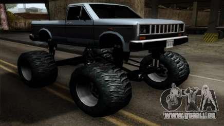 Monster Bobcat pour GTA San Andreas