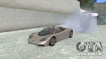 1992 McLaren F1 Clinic Model Custom Tunable v1.0 pour GTA San Andreas