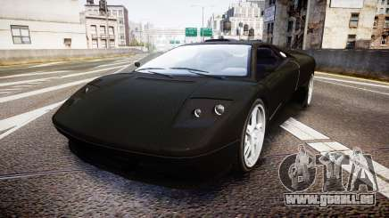 Pegassi Infernus Full Carbon pour GTA 4