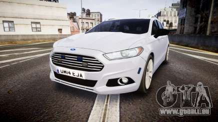 Ford Fusion Estate 2014 Unmarked Police [ELS] pour GTA 4