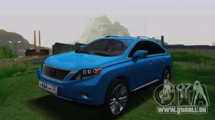Lexus RX450h v3 für GTA San Andreas
