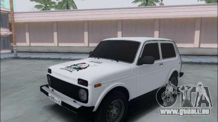 Lada Niva pour GTA San Andreas