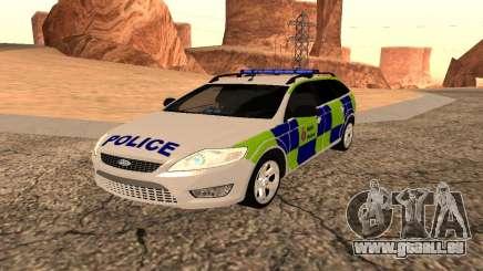 Ford Mondeo Kent Polizei für GTA San Andreas