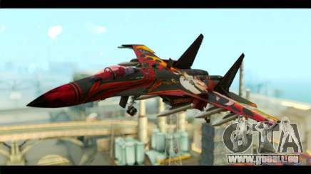 SU-35 Flanker-E Tekken pour GTA San Andreas