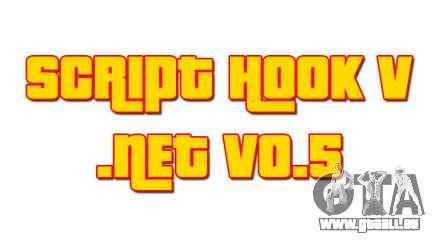 Script Hook V .NET v0.5 für GTA 5