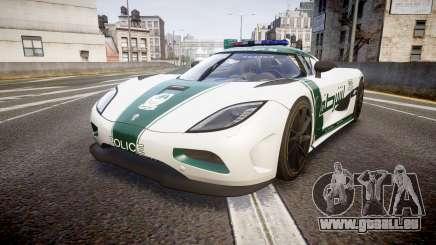 Koenigsegg Agera 2013 Police [EPM] v1.1 PJ4 für GTA 4