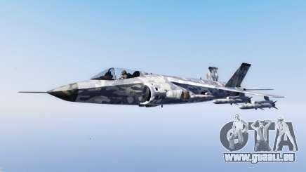 Hydra light blue camouflage für GTA 5