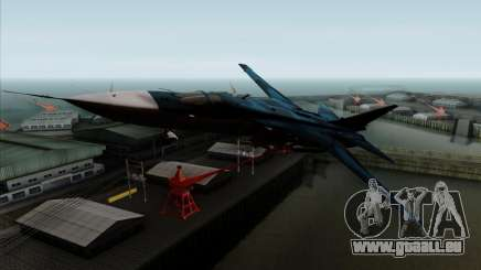 SU-24MP Fencer Blue Sea Camo pour GTA San Andreas