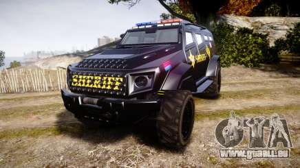 GTA V HVY Insurgent Pick-Up SWAT [ELS] für GTA 4