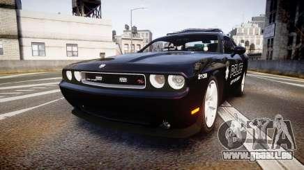 Dodge Challenger SRT8 Police [ELS] pour GTA 4