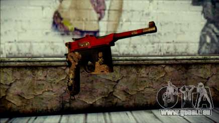 Mauser M1896 Royal Dragon CF für GTA San Andreas