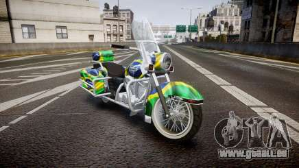 GTA V Western Motorcycle Company Sovereign BRA für GTA 4
