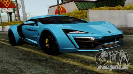 Lykan Hypersport 2014 EU Plate Livery Pack 1 pour GTA San Andreas