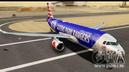 Airbus A320-200 AirAsia Queens Park Rangers pour GTA San Andreas