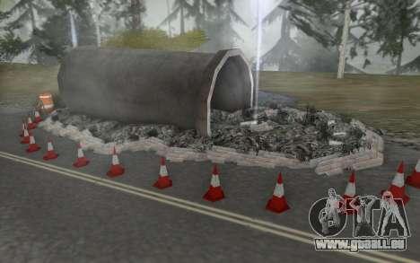 Straßen-Reparatur für GTA San Andreas fünften Screenshot